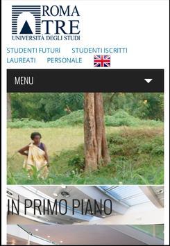 Università degli Studi Roma3 poster
