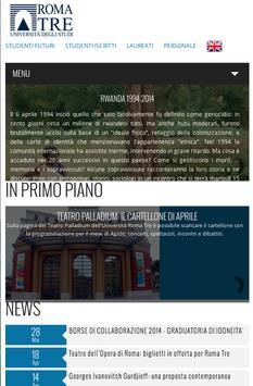 Università degli Studi Roma3 screenshot 1