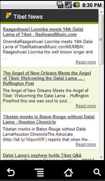 The Tibet News App poster
