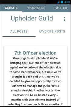Upholder Guild screenshot 4
