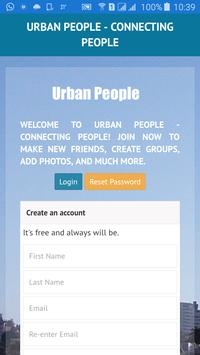 Urban People Social Network poster
