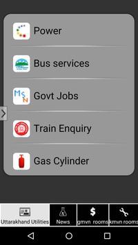 Uttarakhand Utilities apk screenshot