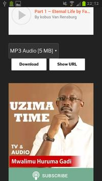Uzima Time Podcast apk screenshot