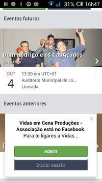VIDAS EM CENA PRODUÇÔES screenshot 2