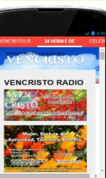 VenCristo Radio apk screenshot