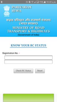 Vehicle Owner Details RTO poster