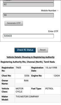 Vehicle Registration Finder apk screenshot