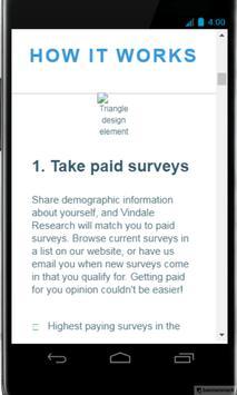 Vindale Research screenshot 2