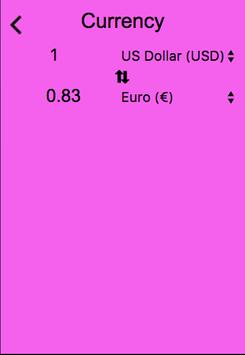 Vio Currency Converter poster