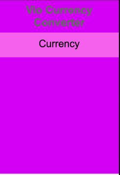 Vio Currency Converter apk screenshot