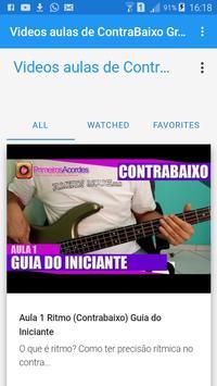 Video Aula Contra Baixo Gratis poster