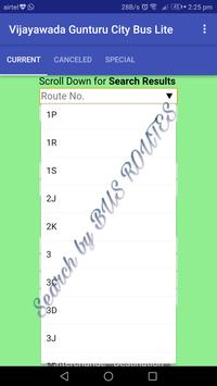 Vijayawada - Gunturu City Bus Lite screenshot 1