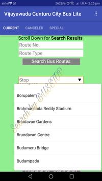 Vijayawada - Gunturu City Bus Lite screenshot 2
