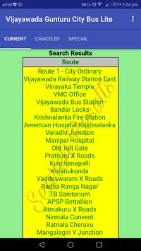 Vijayawada - Gunturu City Bus Lite screenshot 4