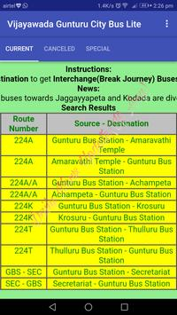 Vijayawada - Gunturu City Bus Lite screenshot 5