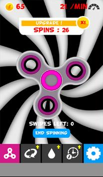 Virtual Fidget Spinner poster