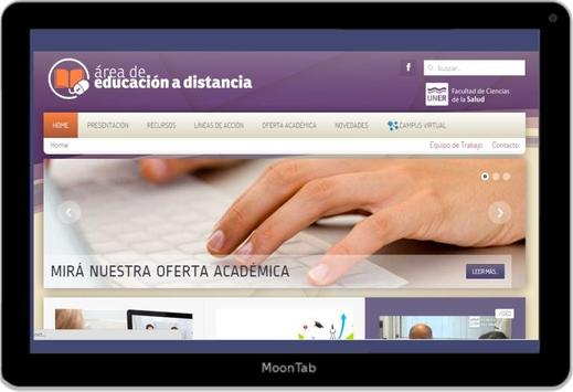 Educación a Distancia FCS UNER screenshot 1