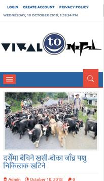 Viral To Nepal poster