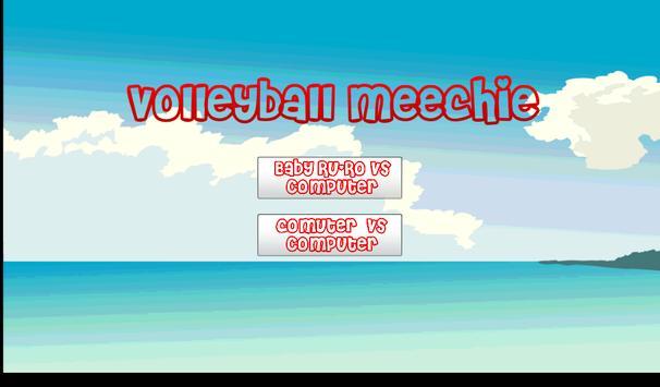 Volleyball Meechie apk screenshot
