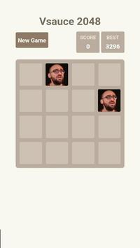 Vsauce 2048 poster