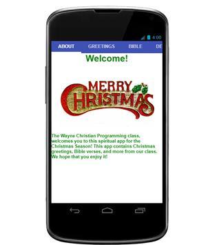 WCS Christmas poster