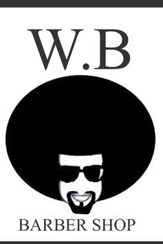 W.B Barber Shop.Desenvolvido para clientes. poster