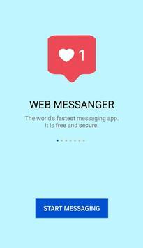 WEB MESSANGER poster