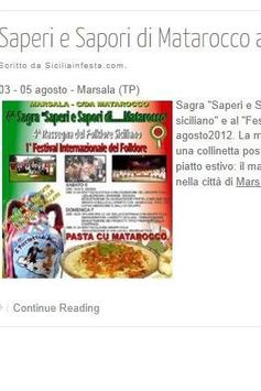 Turismo in Sicilia apk screenshot