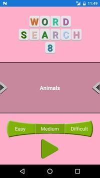 WORD SEARCH 8 apk screenshot
