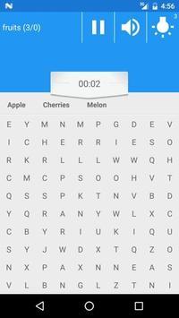 WORD SEARCH GAME screenshot 1