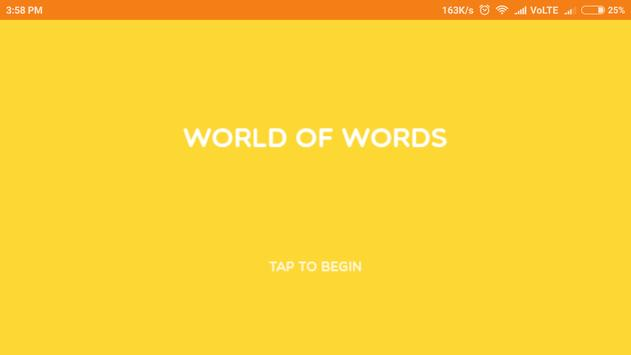 WORLD OF WORD poster