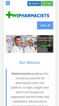 WePharmacists poster