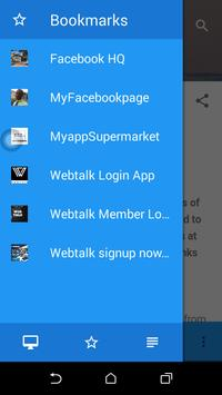 Webtalk Social Browser screenshot 5