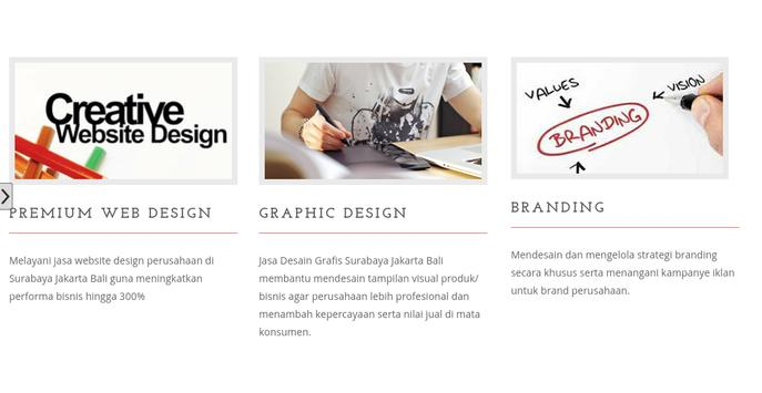 Web Branding Design Surabaya screenshot 1