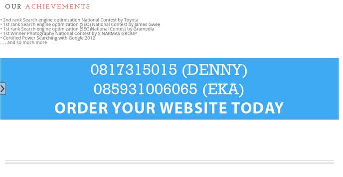 Web Branding Design Surabaya screenshot 2