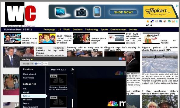 Web Chronicle apk screenshot