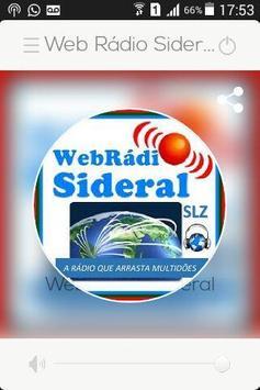Web Rádio Sideral screenshot 1