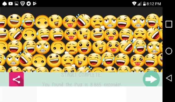 Where's Smiley The Emoji Game screenshot 1