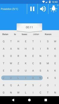 Word Search with seiya screenshot 3