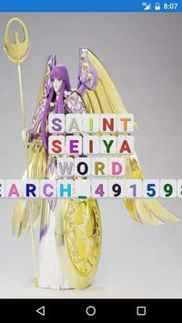 Word Search with seiya poster
