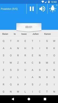 Word Search with seiya screenshot 2