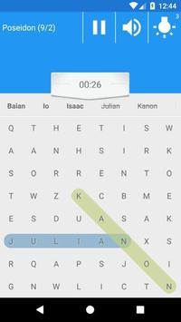 Word Search with seiya screenshot 4