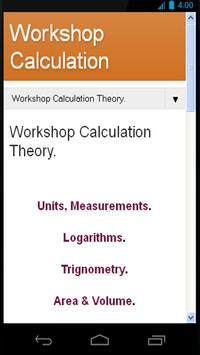Workshop Calculation Theory poster