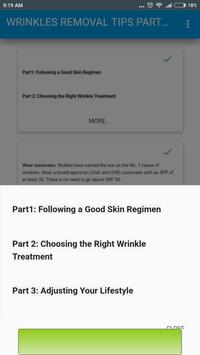 Wrinkles Removal Tips Part 2 poster