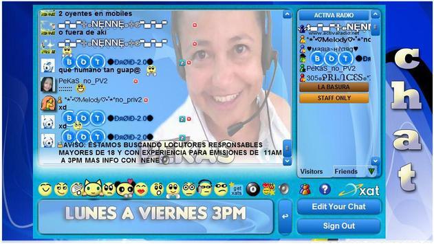Xat Activa Radio apk screenshot