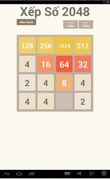 Xếp Hình Xếp Số 2048 screenshot 1