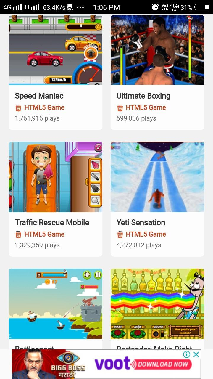 Y8 Mobile App- one app for all your gaming needs for Android