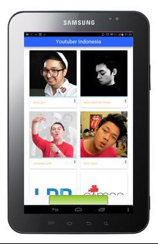 Youtubers Indonesia apk screenshot