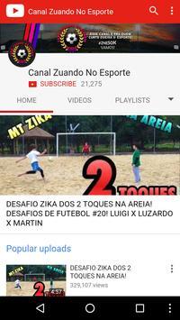 Canal Zuando no Esporte poster