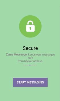 Zama Messenger screenshot 1